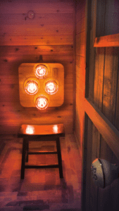 Near Infrared Sauna